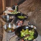 Feriencamp ROOTS Essen Angerichtet