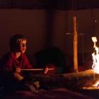 Feriencamp ROOTS Feuer im Tipi