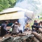 Feriencamp ROOTS Nomadenzelte mit Feuer