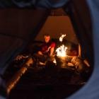 Feriencamp ROOTS Tipi mit Feuer